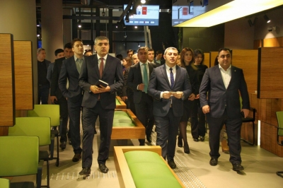Caspian European Club organized business tour